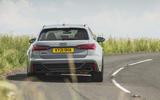67 super estate triple test 2021 Audi cornering rear