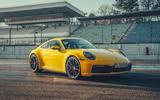 2019 Porsche 911 Carrera S track drive - static front