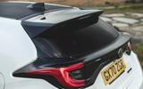 Britain's best affordable drivers car 2020 - Toyota GR Yaris - spoiler