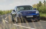 69 super estate triple test 2021 Porsche cornering front