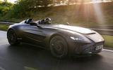 2020 Aston Martin Speedster - front 3/4