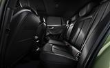 6 Audi SQ2 rear seats