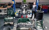 Bentley Blower continuation - parts