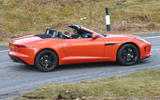 Jaguar F-Type - tracking side