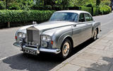 6 rolls royce silver cloud