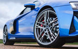 Audi R8 RWD 2020 UK first drive review - alloy wheels