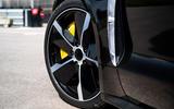 Porsche Taycan 2020 first drive review - aero wheels