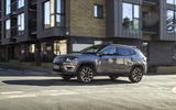 Jeep Compass 2018 UK review on the road side