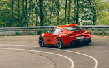 AC Schnitzer Toyota Supra 2020 first drive review - cornering rear