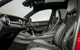 Alfa Romeo Stelvio Quadrifoglio 2018 UK RHD first drive - cabin