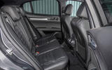 Alfa Romeo Stelvio Speciale first drive review - rear seats