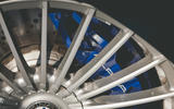Alpina B3 Touring 2020 UK first drive review - brake calipers