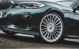 7 Alpina D3 Touring 2021 UK first drive review alloy wheels