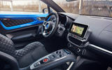 Alpine A110 2018 UK dashboard