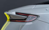 Aston Martin DB11 AMR 2018 review rear lights