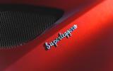Aston Martin DBS Superleggera 2018 first drive review badge