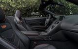 Aston Martin DBS Superleggera Volante 2019 first drive review - cabin