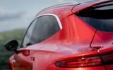 Aston Martin DBX 2020 UK first drive review - rear quarter