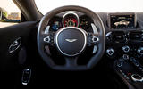 Aston Martin Vantage driving position