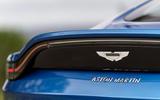 Aston Martin Vantage manual 2019 first drive review - spoiler