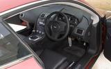 Aston Martin V8 Vantage 2005 - interior