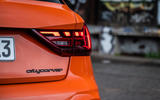 Audi A1 Citycarver 2019 first drive review - rear badge