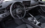 Audi A4 2019 first drive review - steering wheel