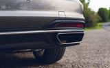 Audi A4 35 TFSI 2019 UK first drive review - exhaust