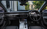 7 Audi A6 TFSIe 2021 UK first drive review dashboard
