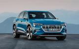 Audi E-tron 2019 official reveal static