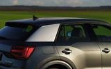 Audi Q2 35 TFSI Sport 2020 UK first drive review - rear three quarters