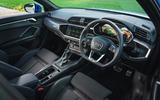 Audi Q3 45 TFSI 2019 first drive review - dashboard
