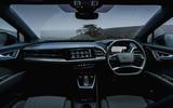 7 Audi Q4 E Tron Sportback 2021 UK FD cabin