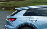 7 Audi Q4 etron 2021 UK FD rear three quarters