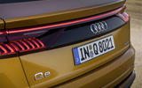 Audi Q8 2018 first drive review brake lights