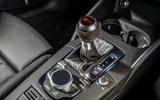 Audi RS3 Sportback 2019 UK first drive review - centre console