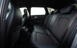 Audi RS4 Avant 2020 first drive review - rear seats