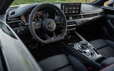 Audi RS5 Coupé 2020 first drive review - dashboard