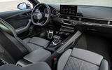 Audi S4 2019 first drive review - cabin
