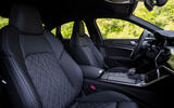 Audi S6 2019 first drive review - cabin