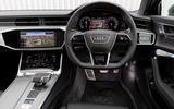 Audi S6 Avant TDI 2019 UK first drive review - dashboard