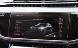 Audi S8 2020 UK first drive review - infotainment