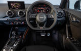 Audi SQ2 2019 UK first drive review - dashboard