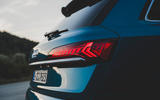 Audi SQ7 2020 first drive review - rear lights