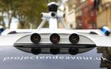 Autonomous Ford Mondeo - sensors