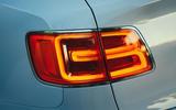 Bentley Bentayga hybrid 2019 first drive review - rear lights