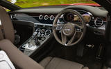 Bentley Continental GT V8 2020 UK first drive review - dashboard