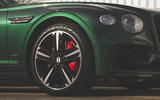 Bentley Flying Spur 2020 UK first drive review - alloy wheels