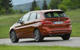 BMW 2 Series Active Tourer 2018 review on the road rear