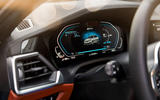 BMW 3 Series 330e 2019 first drive review - instruments